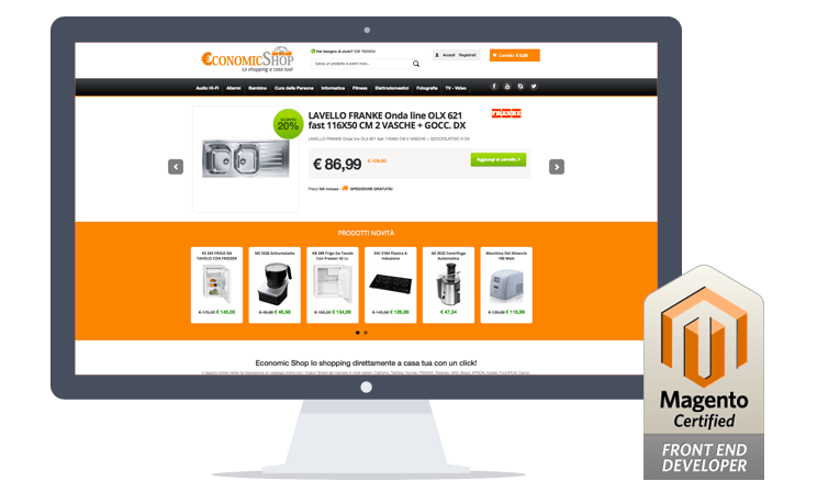 The best E-Commerce with MagentoServices Company: 1604lab
